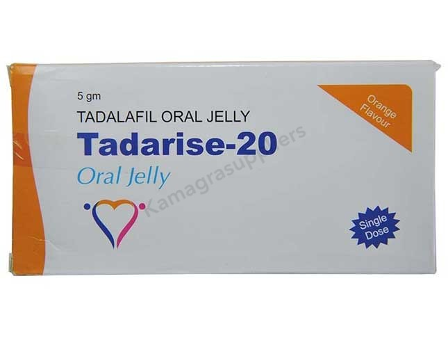 Tadarise Jelly 20mg Sachets